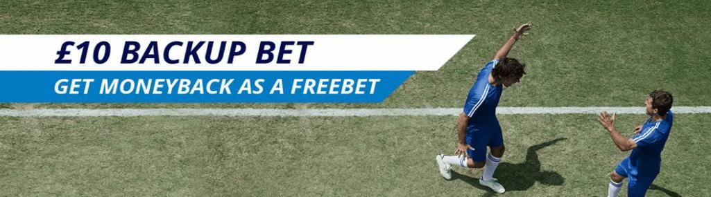 Sportingbet £10 Welcome Bonus Backup Bet