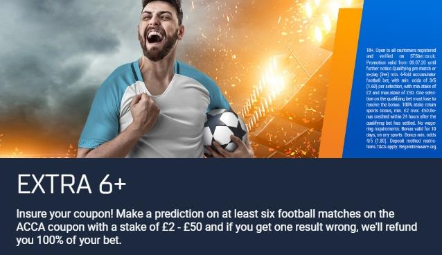 STSbet £10 English Football Weekly Bonus