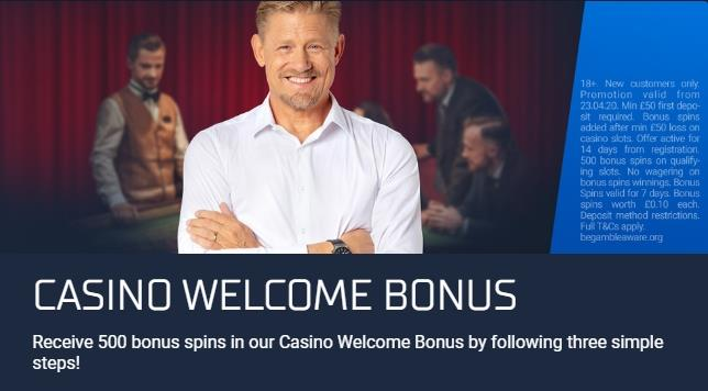 STSbet Casino Welcome Bonus