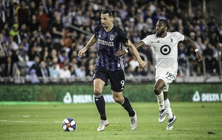 Zlatan Ibrahimovic LA Galaxy MLS Soccer