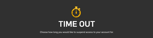 Betfair Time Out Page