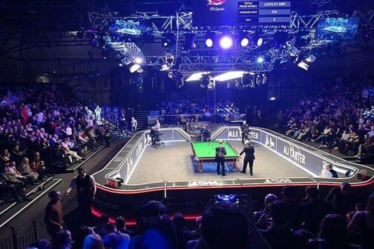 Big break in the 2020 Masters snooker final