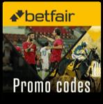 betfair promo codes