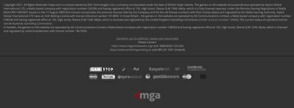 Hopa Copyright