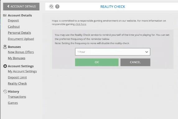 Hopa Reality Check