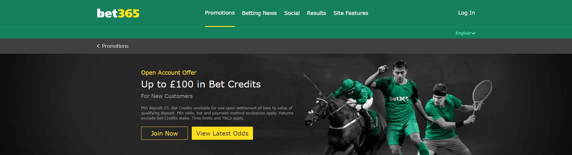 Olympics Betting Promotions