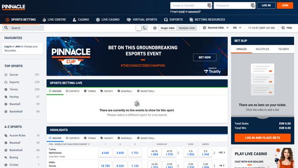 Pinnacle Homepage