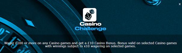 sportingbet - casino challenge