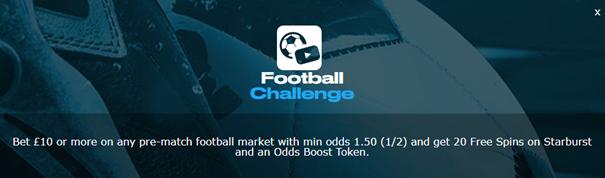 sportingbet - football challenge