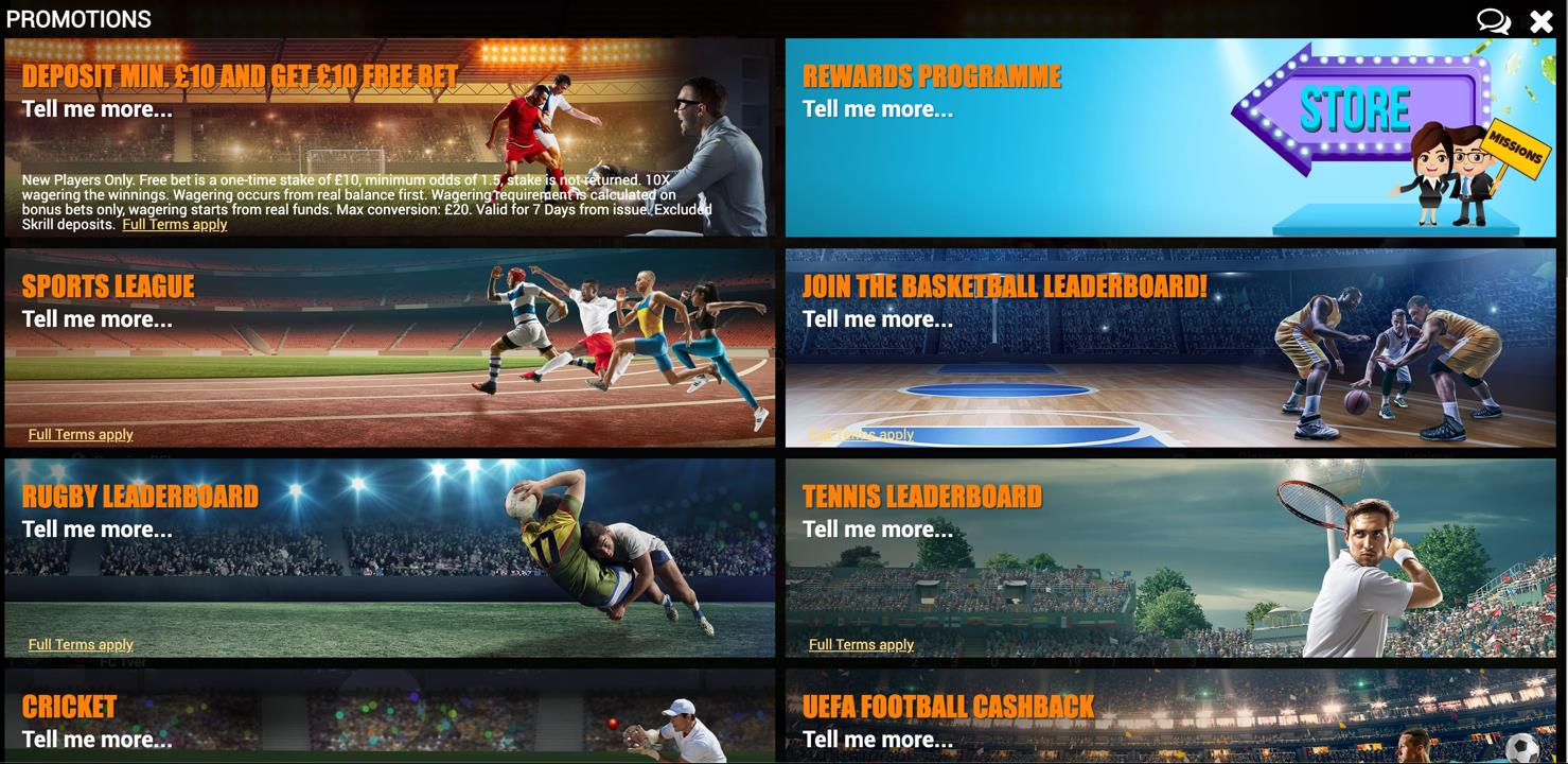 Sportsbook Promotions
