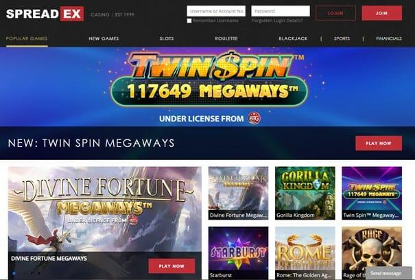 Spreadex Casino Portal