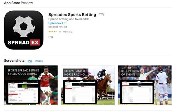 Spreadex Sports Betting App