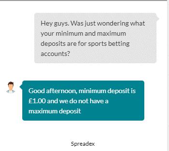 Spreadex Live Chat