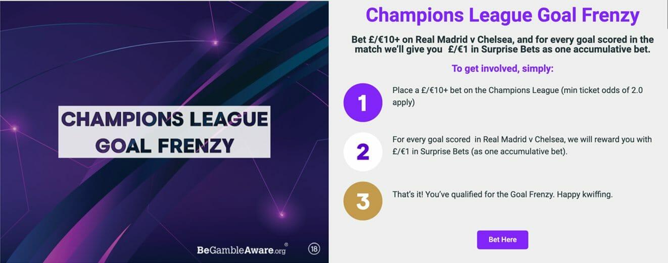 Champions League Promotion