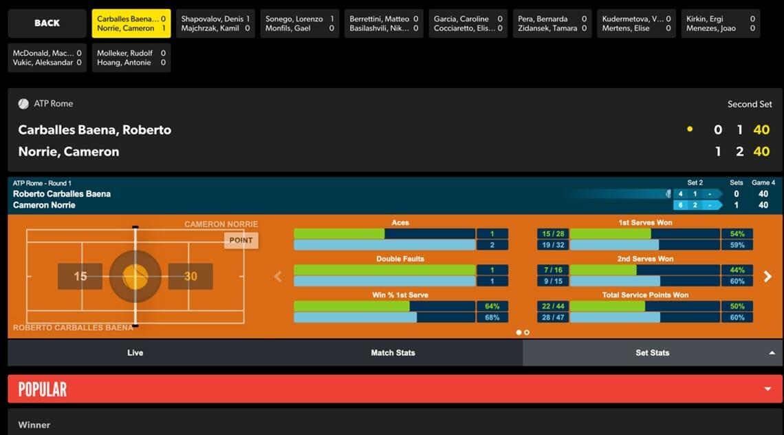 Rizk live offer screenshot