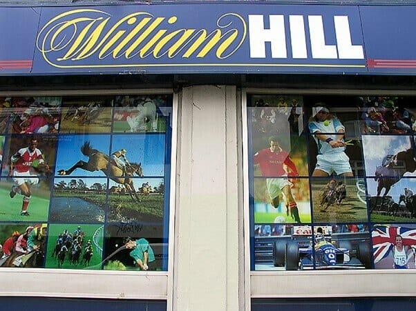 Bagian Depan Toko William Hill