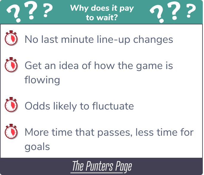 waiting to bet infographic