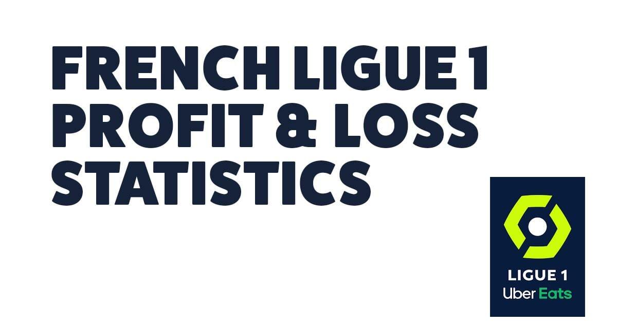 French Ligue 1 Profit & Loss Statistics