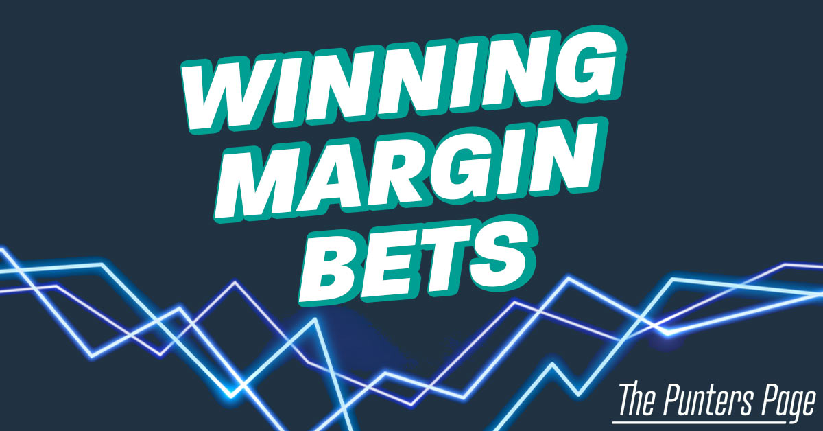 Winning Margin Bets text on blue background