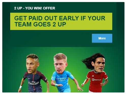 Paddy Power 2 Up Bet