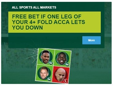 Paddy Power Free Bet Acca