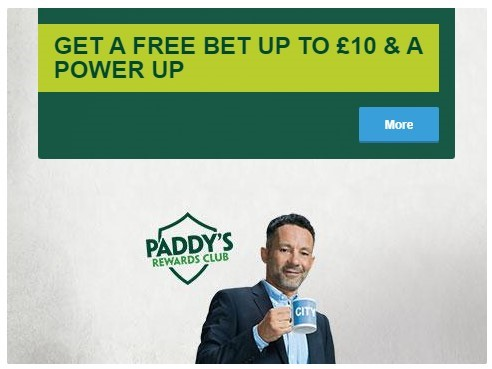 Paddy Power Free Bet - Paddy Power Offers