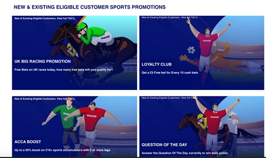 The pools sports promotions